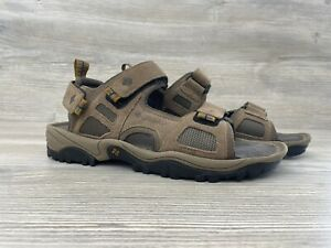 COLUMBIA Brown Suede Sport Sandals-Mens Size 7