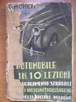 MONETI AUTOMOBILE IN 10 LEZIONI - DIESEL AUTOGASSOGENI  (a12)