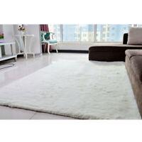 Anti-slip Soft Area Rugs Floor Mat for Living Room/Nursery/Home White