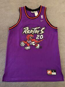 Vintage NBA Jersey Damon Stoudamire Jersey Nike L Toronto Raptors Jersey Rare 🔥