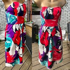 Coast Summer Strapless Bandeau Cocktail Dress Wedding Races Mother Bride 10/12?