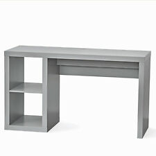 Office Desk Home Workstation Student Kids Laptop Writing Table Storage Gray New