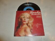 "BLONDIE - Sunday Girl - 1978 UK 2-track 7"" Vinyl Single"