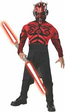 Star Wars Darth Maul Muscle Chest Sith Lord Deluxe Costume Kit Size Large 12-14