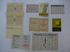 div alte Taschenkalender