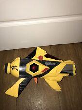 Transformers Bumblebee Yellow Black Blaster Gun With Sound
