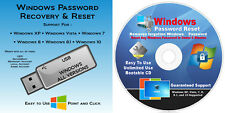 #1 BEST Windows Password Reset Remove USB & CD Windows XP, VISTA, 7, 8.1, 10