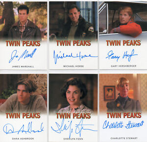 Twin Peaks  -  Autograph Card Selection NM  Rittenhouse Star Pics