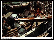 1975  --  CONCARNEAU  CHARGEMENT DE LA GLACE SUR UN BATEAU DE PECHE  3P956