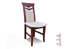 Bois Massif Chaise de Salle à Manger Design Cuir à K24