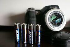 Fujifilm FinePix S Series S8000fd 8.0MP Digital Camera -Black-tested and working