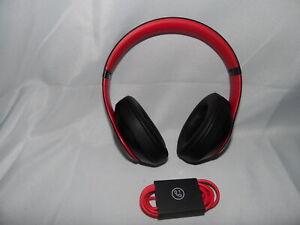 BEATS BY DR. DRE BEATS STUDIO 3 WIRELESS OVER-EAR HEADPHONES RED/BLACK RF5257