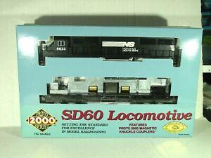 LIFE LIKE PROTO 2000 HO SCALE SD60 LOCOMOTIVE NORFOLK SOUTHERN 23489