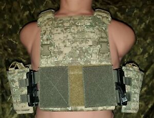 OPS Tactical Pencott Badlands Camouflage Plate Carrier With Tubes System