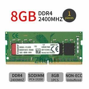 8GB DDR4 PC4-19200 2400Mhz KVR24S17S8/8 SODIMM 1.2V Laptop RAM pour Kingston FR