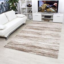 Gestreifte moderne Wohnraum-Teppiche aus Acryl