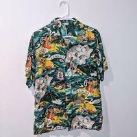 "Vintage ""Land of Aloha"" Hale Hawaii Hawaiian Shirt 1950s NEAR MINT ORIGINAL"