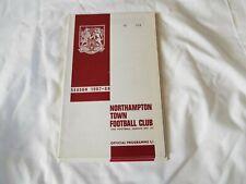 NORTHAMPTON TOWN FOOTBALL CLUB 1967-68 No 393