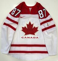 SIDNEY CROSBY 2010 TEAM CANADA GOLD AUTHENTIC NIKE JERSEY 54 PENGUINS NWOT