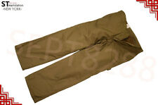 Mens Winter Cotton Fleece Lined Cargo Combat Work Pockets Long Pants Trousers