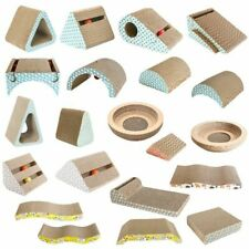 Cat Scratcher with Catnip Kitten Scratch Pad Corrugated Paper Scratch Board For