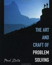 The Art and Craft of Problem Solving by Paul Zeitz (1999, Hardcover)