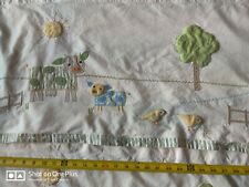 2 Pottery Barn Kids Farm Friends Valance Curtain Nursery Baby & crib bedskirt