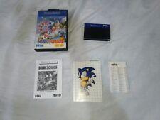 Sonic Chaos original  Sega Master System Brazil