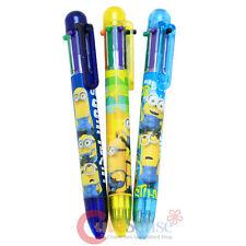 Despicable Me Minions 3pc Pens Set 7 color Retractable Ballpoint Pen