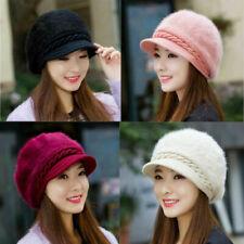 Women's 4 Warm Crochet Slouch Colors Knitted Ladies Baggy Hat Cap Winter Beanie