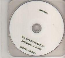 (BT68) Infernal, From Paris To Berlin - DVD