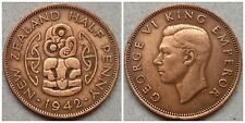 1/2 Penny from New Zealand 1942. Rare!