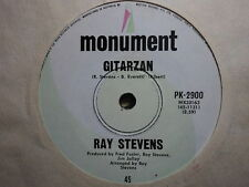 "Ray Stevens ""Gitarzan"" 70s Smash Hit Oz 7"""