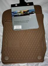 2008 to 2012 Mercedes Benz GL550 Rubber Floor Mats - FACTORY OEM ITEMS - BEIGE