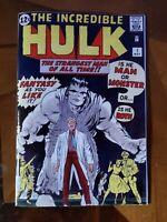 The Incredible Hulk # 1 Silver Age  Replica Edition ☆☆☆☆ Mint