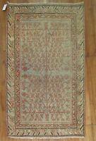 Antique Turkestan Khotan Rug Size 4'1''X6'10''
