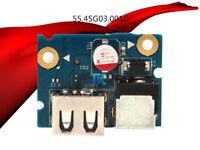 55.4SG03.001G DC Board with Power Jack USB Port for LENOVO G480 G485 G580 LG4858