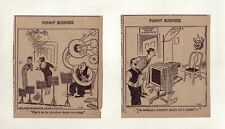 Funny Business by Ralph Hershberger - First month! - 26 daily comics - July 1940