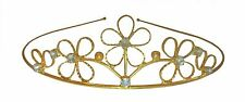Accessories Engagement Wedding Princess Gold Crown Tiara