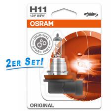osram h11 12v 55w Repuesto Original Ahorro 2 piezas ampolla 64211-01b
