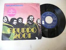 """GRUPPO 2001"""" PER UN MOMENTO-disco 45 giri MERCURY Italy 1975"""" PROGRESSIVO Italy"""