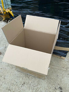 10 LARGE USED DOUBLE WALL Cardboard Boxes House Moving Removal Packing Box CHEAP