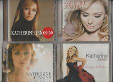 Katherine Jenkins : Rejoice / Serenade / Living A Dream / Premiere / 4CD Albums