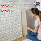 Us Diy Foam 3d Self Adhesive Panels Wall Stickers Room Home Decor Embossed Bric