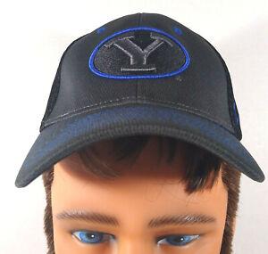 Brigham Young University BYU Cougars YOUTH Size Hat Dark Gray w/Black Mesh