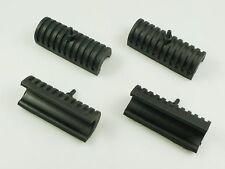 HARLEY-DAVIDSON Saddlebag lower rubber bumper 2 Paia Blocchi In Gomma Baule Laterale