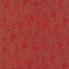 """Moda Welcome Fall Berry Red 100% Cotton Quilting Fabric 44"""" Wide SBY Deb Strain"""