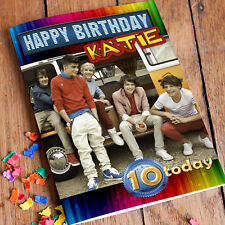 ONE DIRECTION 1D  Personalised Birthday Card! FAST 1st Class Shipping!
