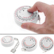 Measures BMI Body Mass Index Retractable Tape Weight Loss Tool Measure Tools