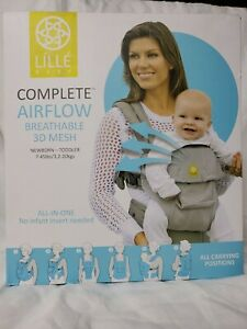 LILLE BABY Complete Airflow Breathable 3D Mesh Newborn-Toddler Baby Carrier